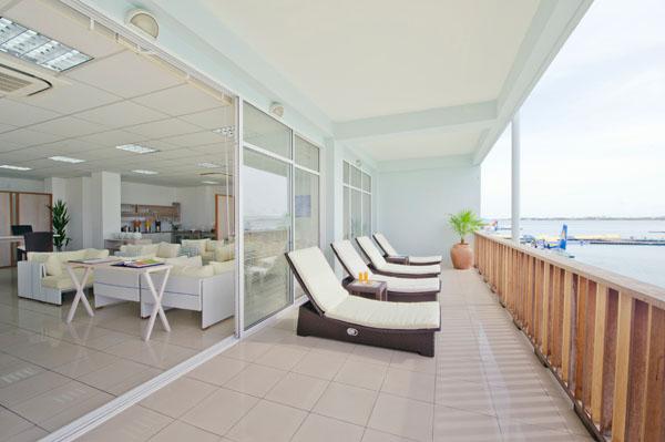 Airport Lounge at Seaplane Terminal